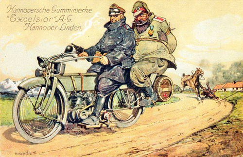 La Motocyclette en France 1914-1921 - Réédition (7)