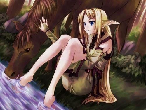 Pensée d'Elfe : Amitié