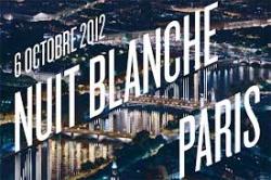 Nuit Blanche 2012, une déambulation le long de la Seine