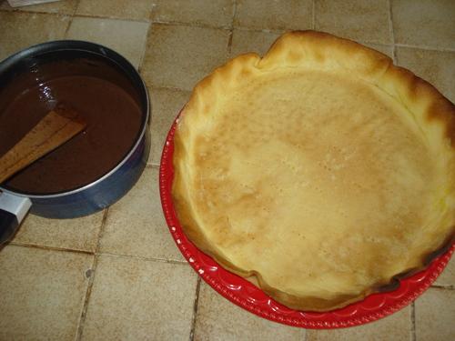 Une Tarte ChocoCarambars