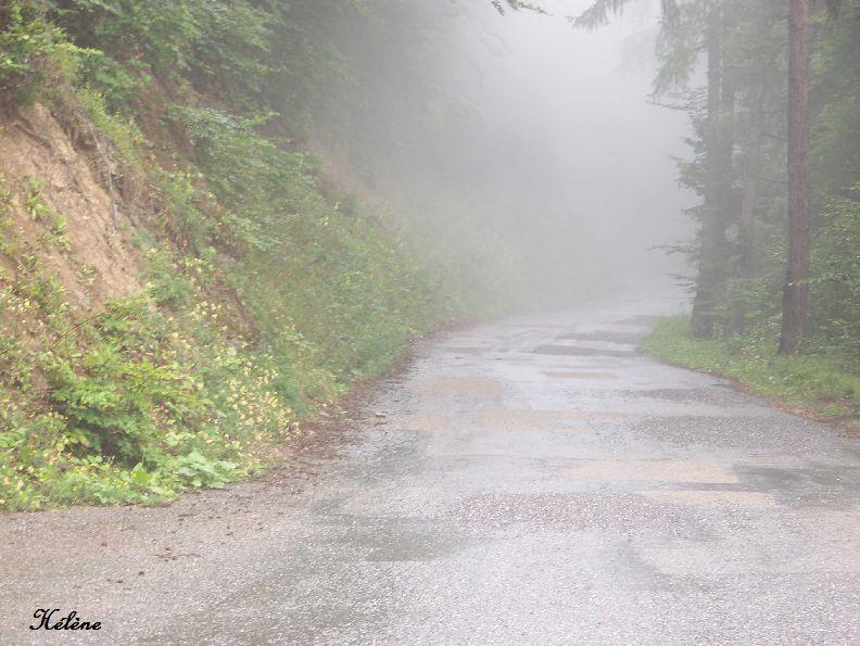 """dimanche 20 juillet """" bon je me risque à partir malgré le brouillard """"!!!!!"""
