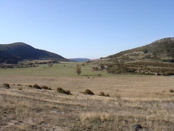 Le plateau au Sud de la Bastide Neuve