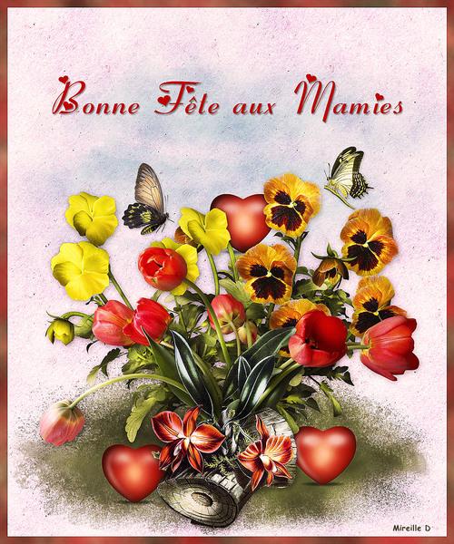 Fête des Mamies 2021 (Carte et Papier Outlook)