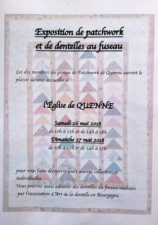 Exposition à Quenne (89)