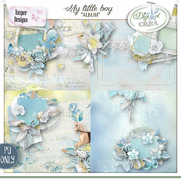 My little boy Album de Xuxper Designs