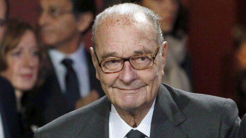 Jacques Chirac lors de sa dernière apparition publique