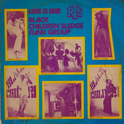 Black Children Sledge Funk Group - Love Is Fair - Complete LP