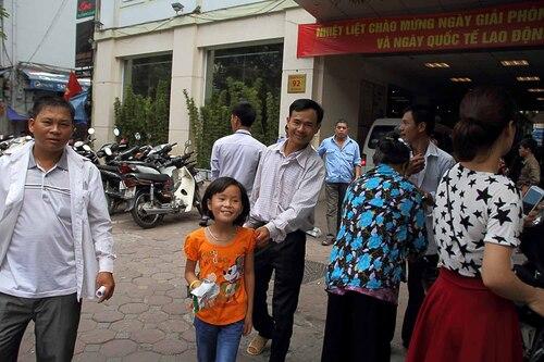 Giang à Hanoi