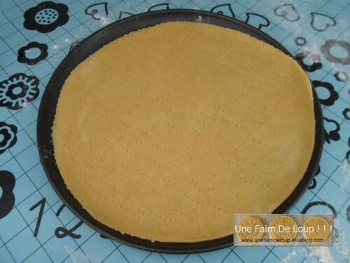 Pâte pour tarte fine salée