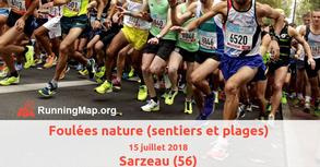 Foulées Nature - Penvins - Dimanche 15 juillet 2018