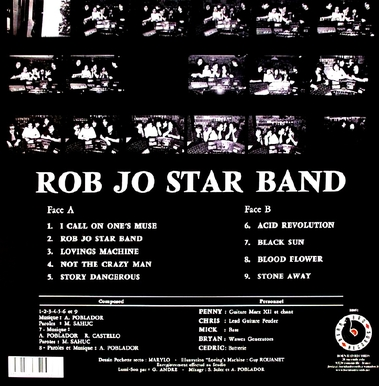 Frenchy but Chic # 91: Rob Jo Star Band - S/T (1975 Ed 2013)