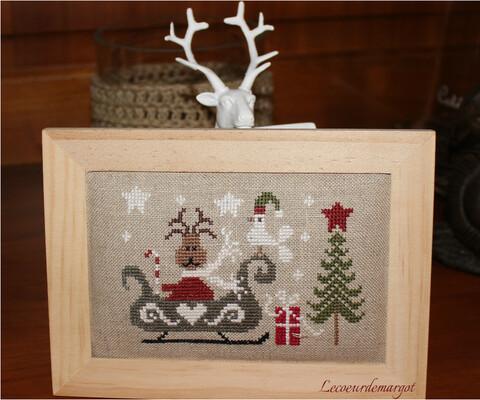 Petite renne de Noël