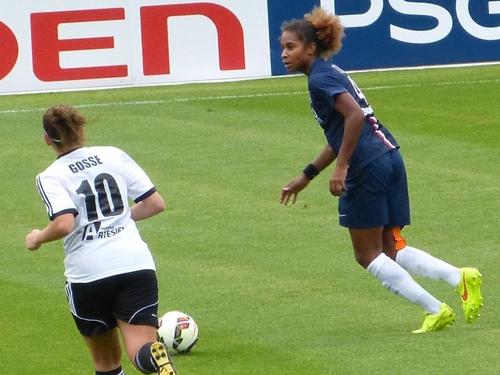 PSG - Arras (5-0) football féminin - 30 août 2014