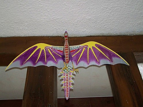dragon indonésien cerf-volant