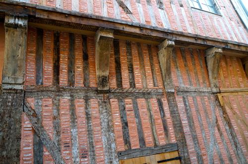 Troyes, les maisons en pans de bois
