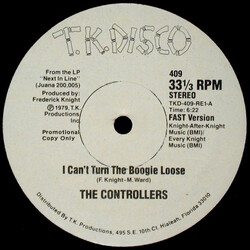 The Controllers - I Can't Turn The Boogie Loose