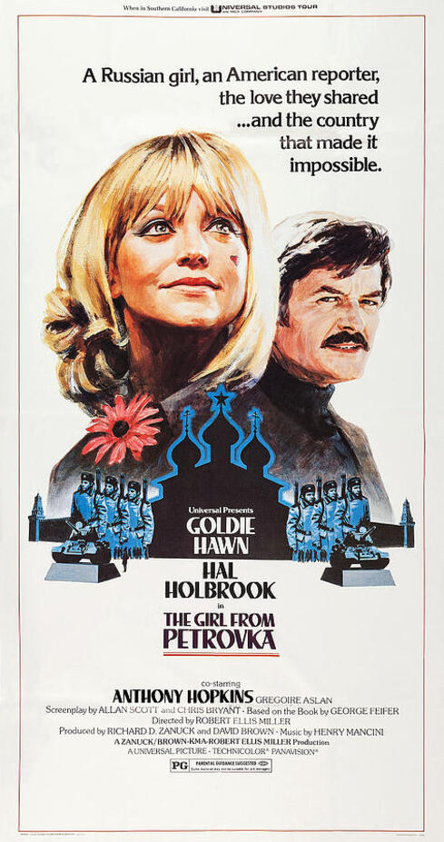THE GIRL FROM PETROVKA BOX OFFICE USA 1974