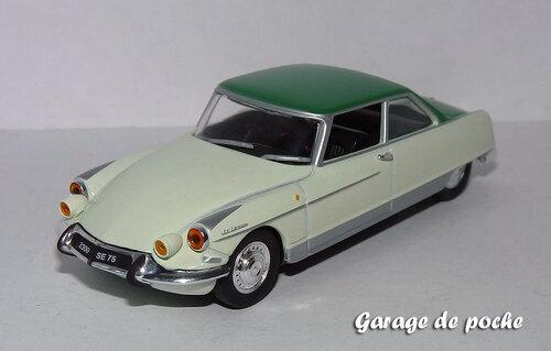 Citroën DS 21 H-Chapron coach Le Léman 1966