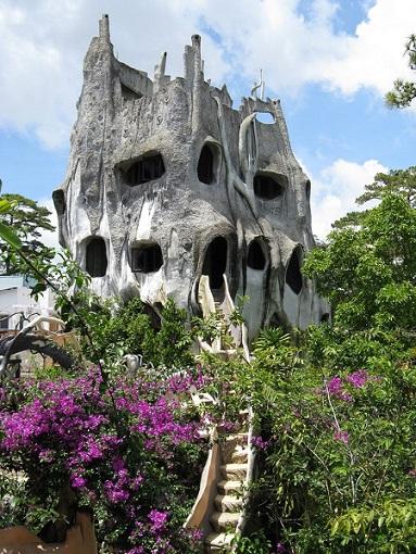 La maison folle de Da Lat (Vietnam)
