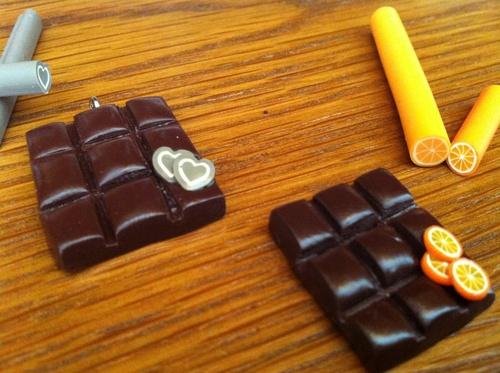 * Tablettes de chocolat et ces gourmandises *