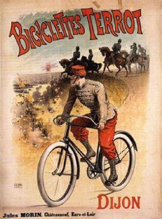 """Autrefois ......à Dijon """"Les cycles Terrot"""""""