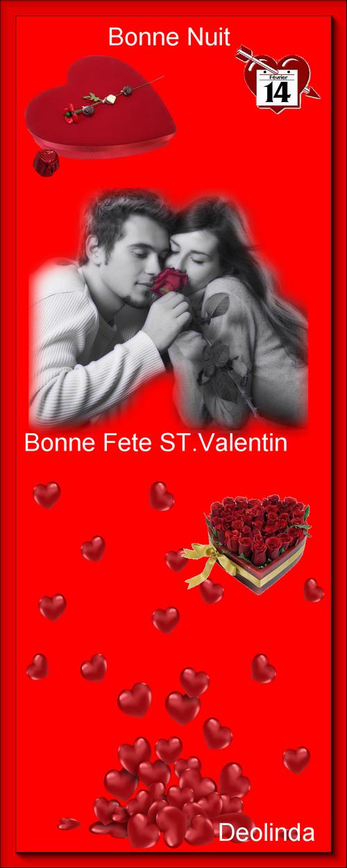 ST. VALENTIN=ST. VALENTIM