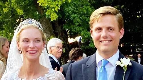 Mariage de Gabriella d'Autriche et du Prince Henri de Bourbon-Parme
