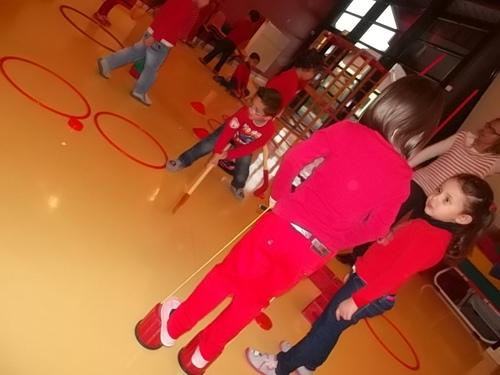 Activités autour du rouge