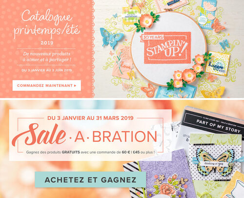 Catalogue Printemps - Eté et brochure Sale-A-Bration.....