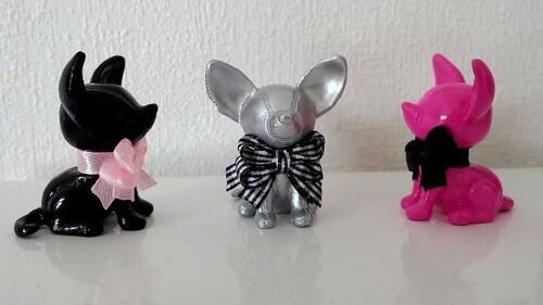 Statuette Chihuahua Design