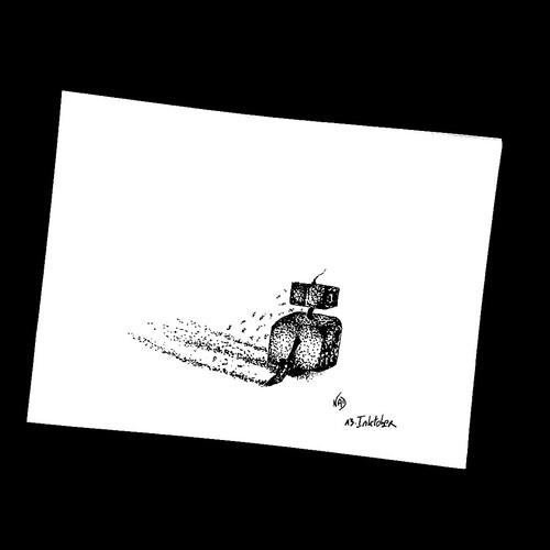#Inktober2019day13 : cendre