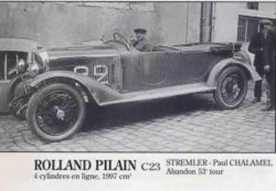 Rolland Pilain (1923-1926)