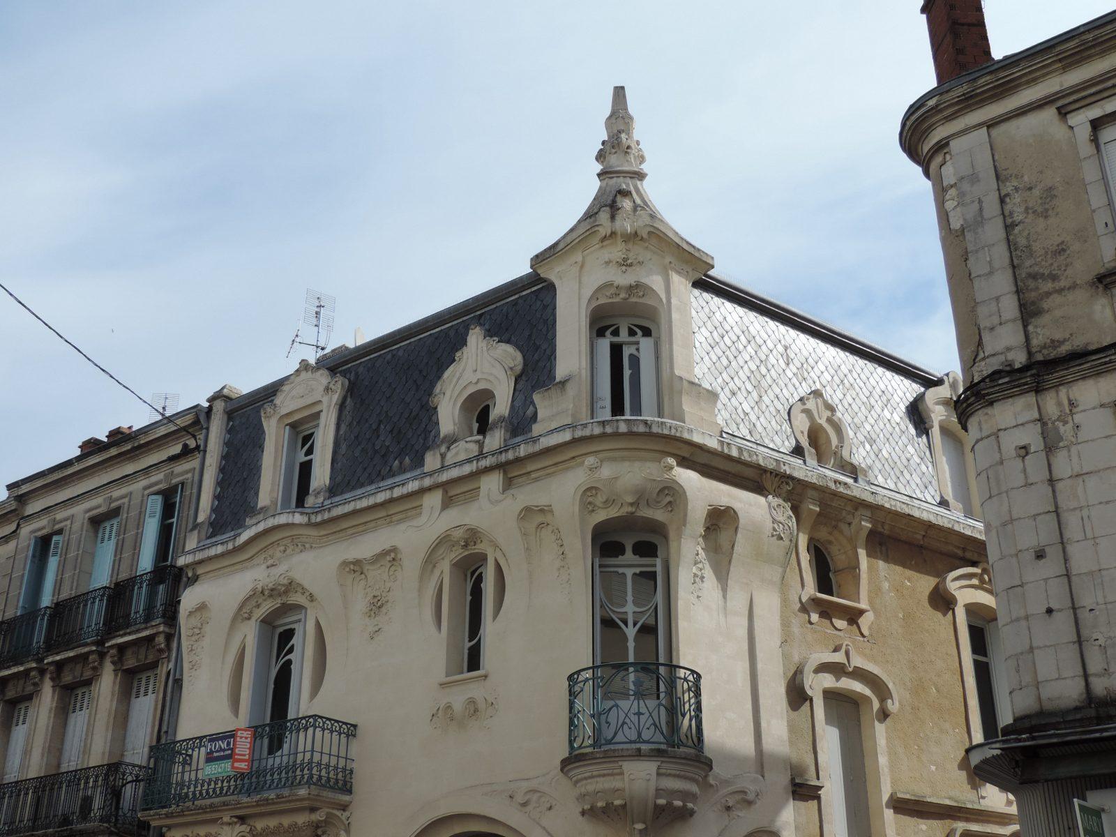 Maison Art nouveau Agen