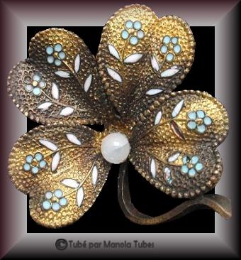 Tube bijoux St Patrick 2982