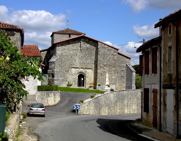 L'église St-Roch de Parzac