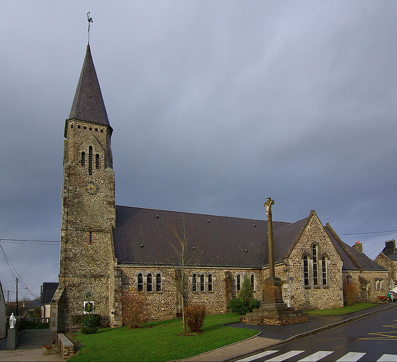 L'église Saint Denis.