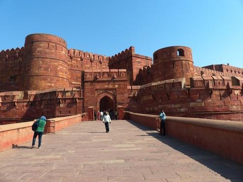 le fort rouge à Agra
