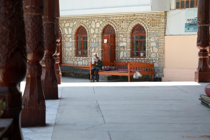 La ville de Pendjikent, Tadjikistan