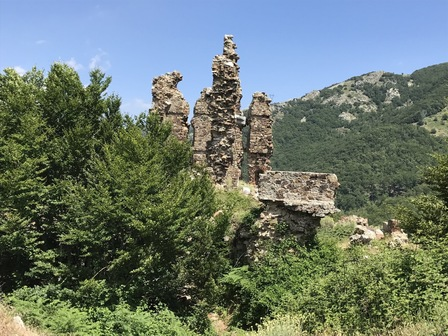 Les ruines du fort