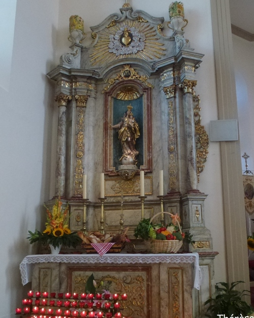 L'église de Krautergrsheim dans le Bas-Rhin