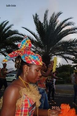 Défilé à Sainte Anne Guadeloupe