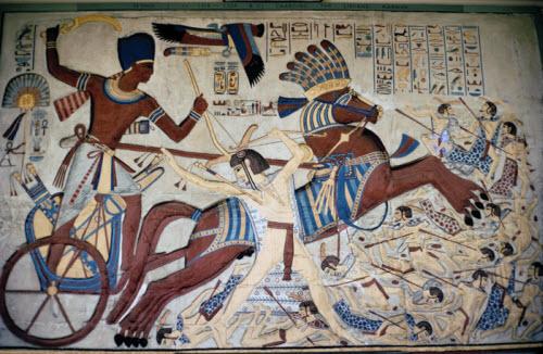 La fin du Moyen-Empire de l'Egypte Antique et la Deuxième Période Intermédiaire