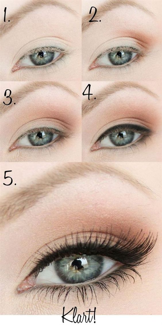 Simple Smoky Eye Makeup Tutorial - Head over to Pampadour.com for product suggestions to recreate this beauty look!: