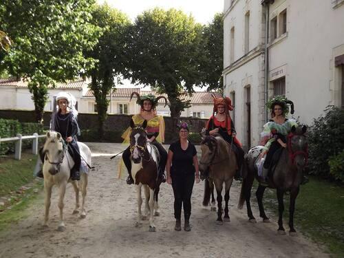 LES 4 SAISONS DES FAUNS - 1er prix des Victoires des Arts Equestres 2017