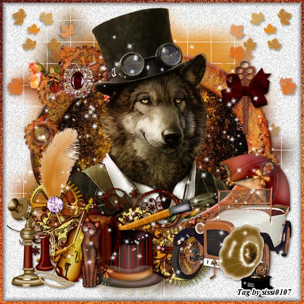 Le Loup Steampunk