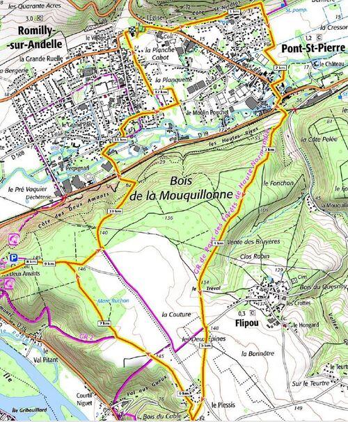 Randonnée Romilly-sur-Andelle - Mai 2021