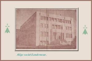 Photo ancienne siège social Landerneau  Coopérative agricole