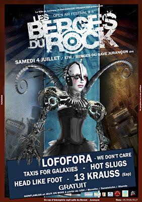 Festival Les Berges Du Rock 2015 à Jurançon
