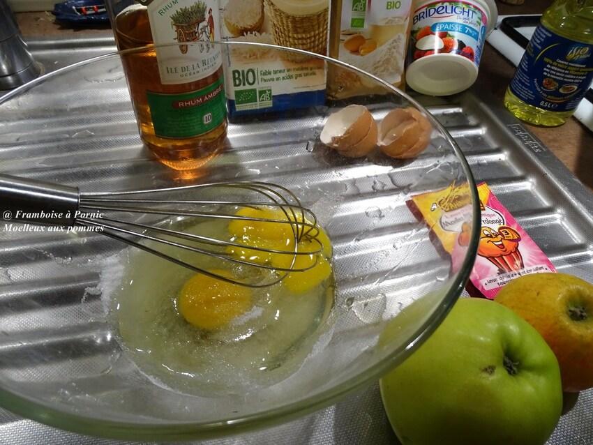 Gâteau moelleux aux pommes à ma façon