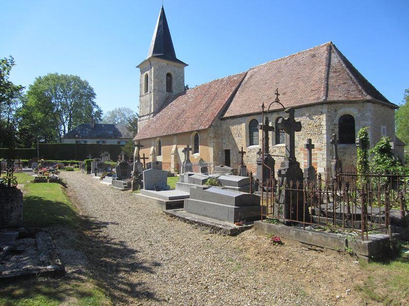 Saint Ouen le pin : église Saint Ouen
